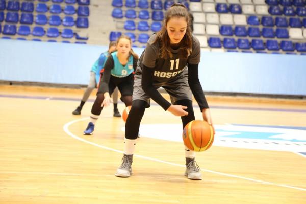 Grumbullohen U14, në kuadër të projektit të FIBA Evropës, YDF-së
