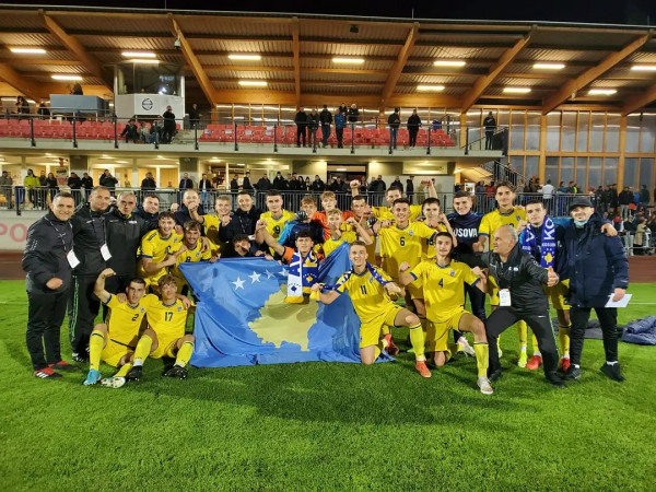 Formacioni zyrtar i Kosovës U17 kundër Sllovenisë