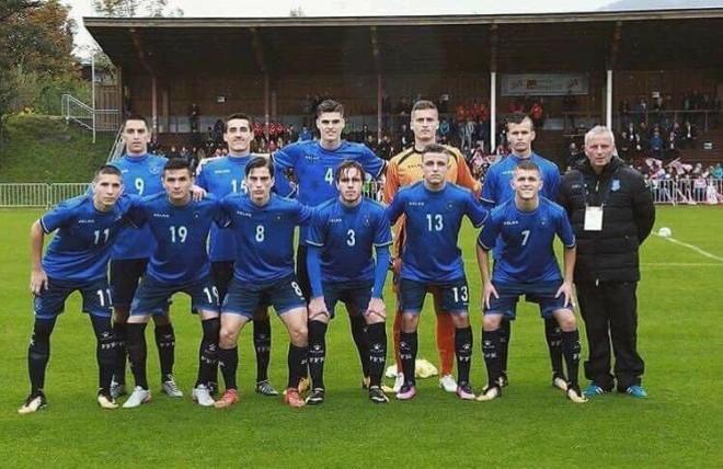 Kosova U19 vs. Sllovakia U19, formacionet startuese