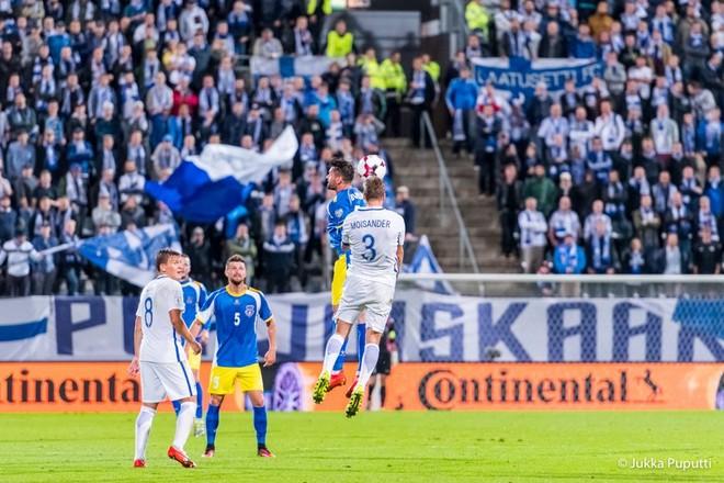 Kosova vs. Finlanda, publikohen formacionet startuese