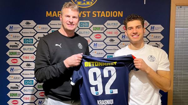 Krasniqi nënshkruan kontratën e re