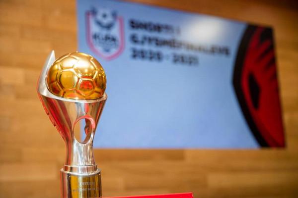 Hidhet shorti për fazën gjysmëfinale të Kupës së Shqipërisë