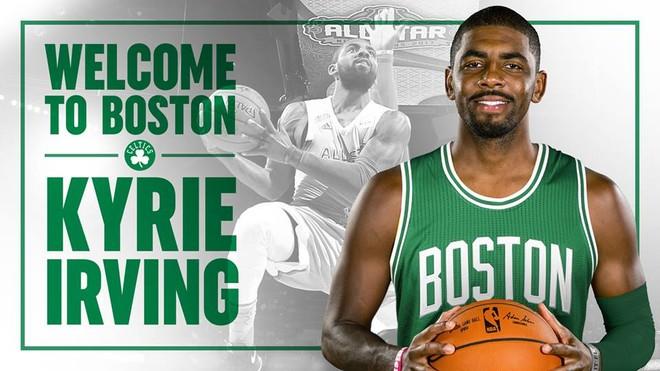 Zyrtare: Kyrie Irving në Boston Celtics
