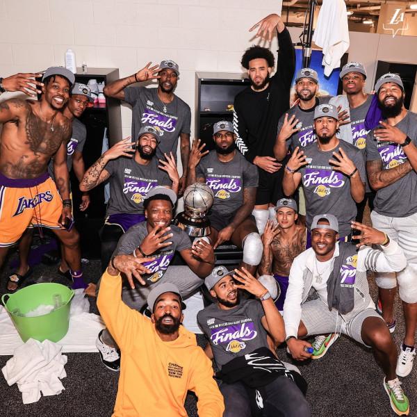 Pas 10 vitesh Lakers në finale, LeBron në histori