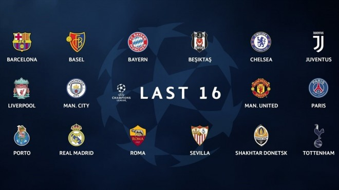 Kompletohen TOP 16 ekipet e Ligës së Kampionëve