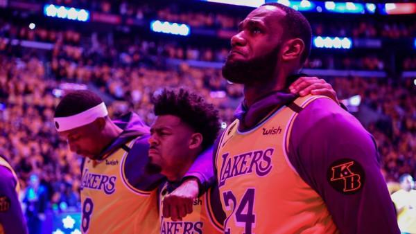 2 lojtarë të Lakersave pozitiv në coronavirus