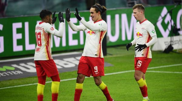 Leipzig vazhdon ndjekjen e kreut në Bundesligë