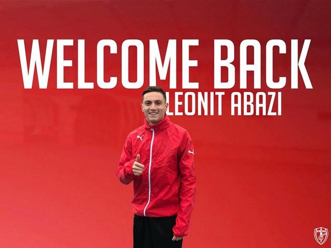 Leonit Abazi kthehet pas lëndimit