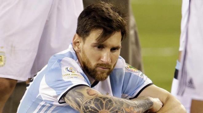 Messi e lë Argjentinën