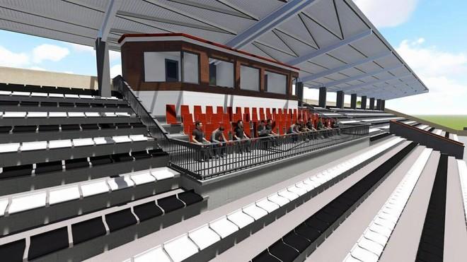 Liria, me stadium modern