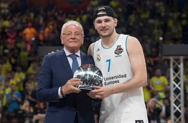Doncic MVP i Final Fourit