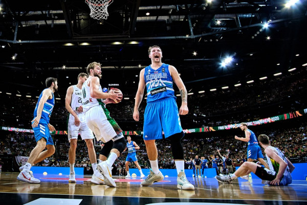 Doncic me triple-double, Sllovenia për herë të parë në Lojërat Olimpike