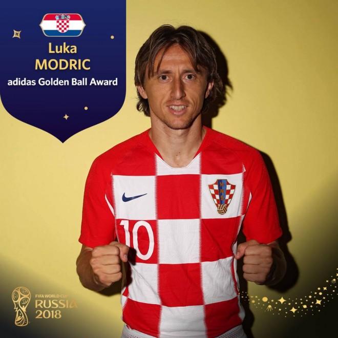 Lojtari i Botërorit: Luka Modric