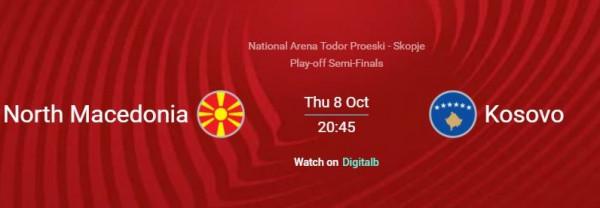 Përshkrimi i UEFA-së për Maqedonia-Kosova