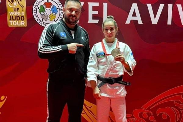 Majlinda fiton të bronztën në Tel Aviv