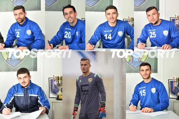 """""""Import me shumicë"""" te Malisheva, nënshkruajnë 7 futbollistë menjëherë!"""