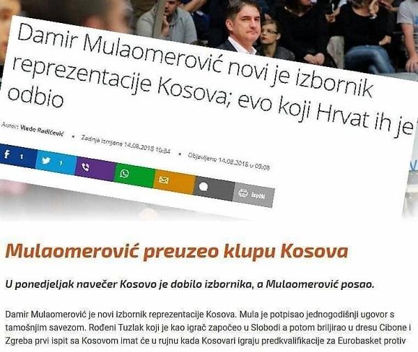 Mediat e rajonit për trajnerin e ri të Kosovës