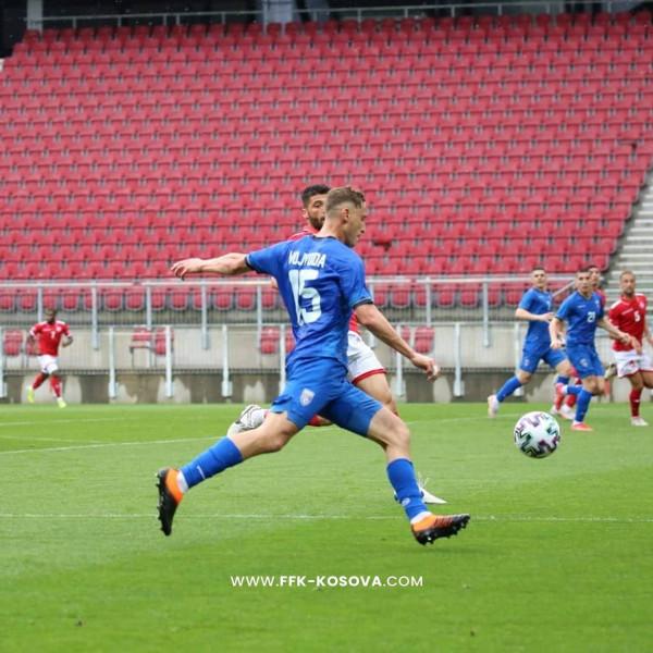 Kosova pëson në fund të pjesës së parë