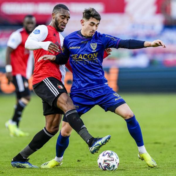 Shabani titullar në humbjen e thellë ndaj Feyenoord