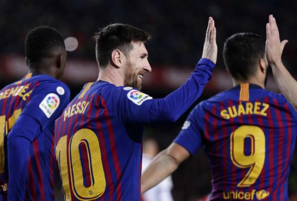 2 gola, 2 asistime nga Messi, Barcelona 5
