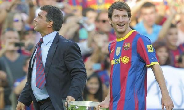 Laporta: Kishim oferta monstruoze për Messin, refuzuam Ronaldon