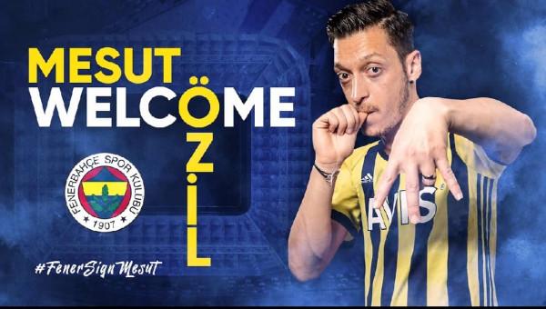 Fenerbahçe zyrtarizon Mesut Ozilin