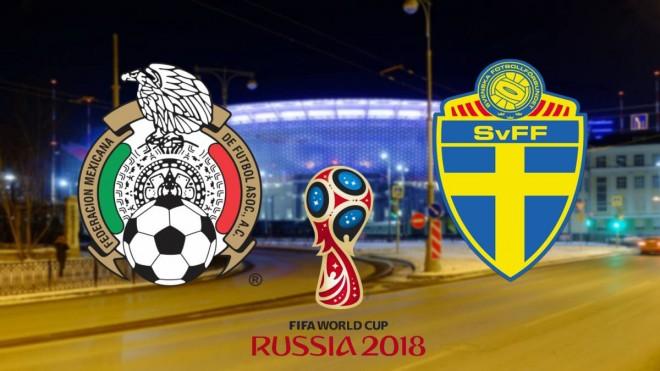 Formacionet: Meksika - Suedia
