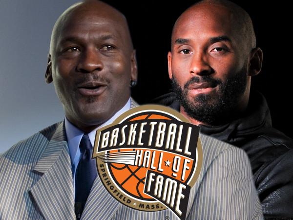 Michael Jordan përfaqëson Kobe Bryantin në Hall Of Fame