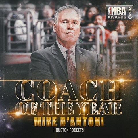 Trajneri i vitit në NBA Mike D'Antoni