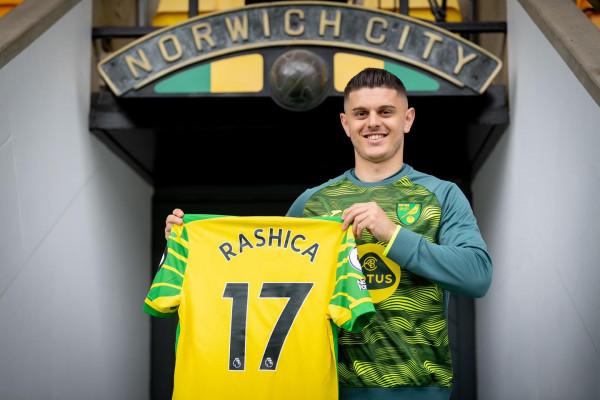 Dita e parë e Rashicës në Norwich