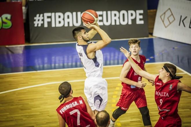 Moldavia U18 e nis me fitore Europianin