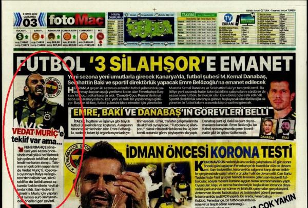 Fenerbahçe ka refuzuar disa oferta për Muriqin