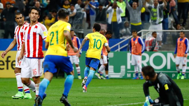 Brazili fantastik, me Neymarin kapiten siguroi Botërorin