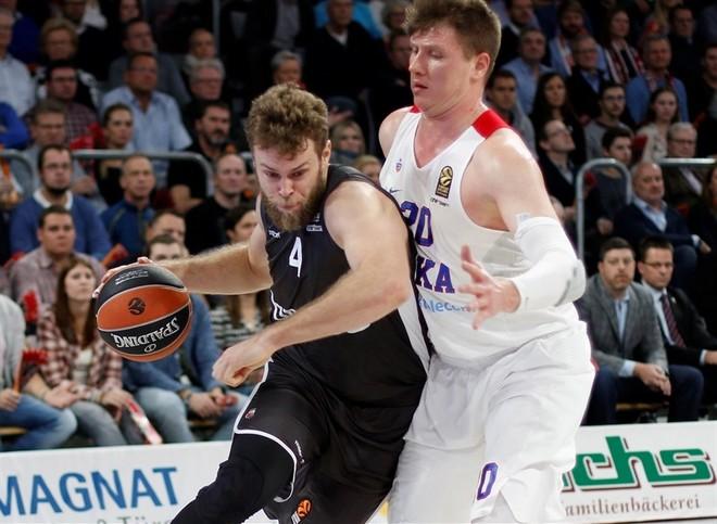 CSKA me vështirësi e mposht Bambergun