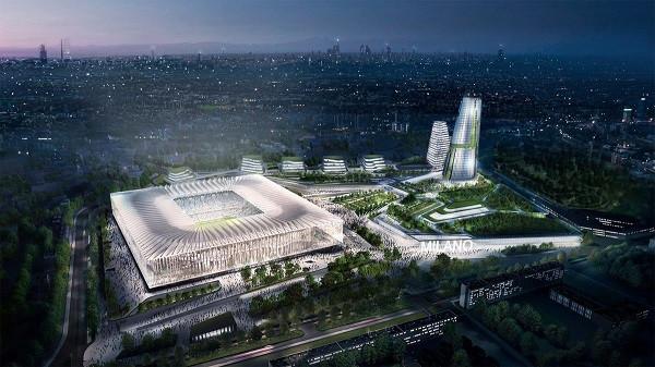 Zbardhet plani i Interit dhe Milanit për stadiumin e ri