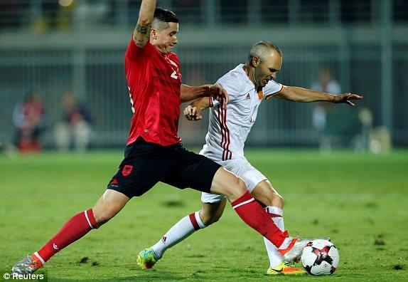 Shqipëria humb kreun, Spanja s'gabon në Loro Boriçi