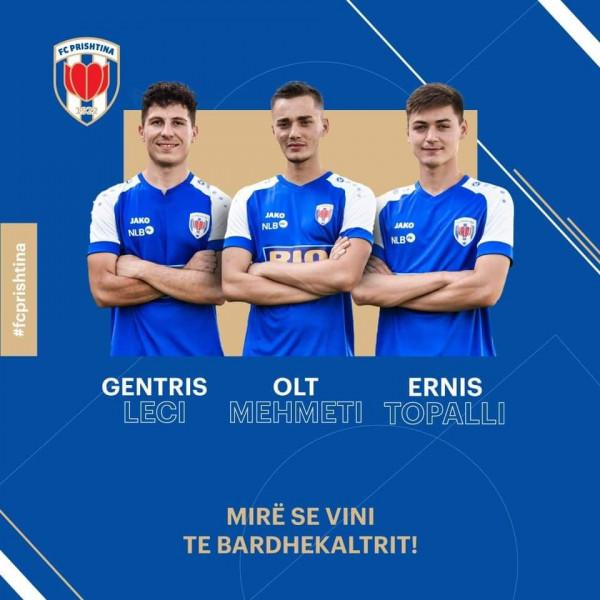 Prishtina shton futbollistë premtues në skuadër