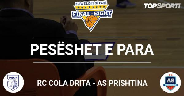Pesëshet e para: RC Cola Drita - AS Prishtina