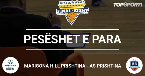 Pesëshet e para: Marigona Hill Prishtina - AS Prishtina