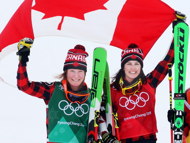 Ski-krosi për kanadezet