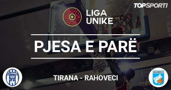 Mbyllet pjesa e parë në ndeshjen Tirana - Rahoveci