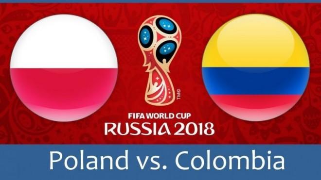 Formacionet: Polonia - Kolumbia