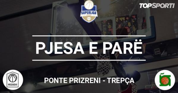 Mbyllet pjesa e parë në ndeshjen Ponte Prizreni - Trepça