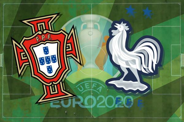 Formacionet zyrtare: Portugalia - Franca
