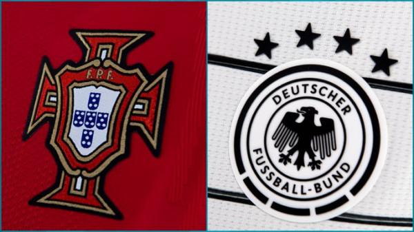 Formacionet zyrtare: Portugalia - Gjermania