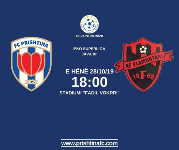 Formacionet zyrtare: Prishtina - Flamurtari