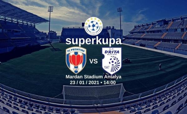 FFK miraton Superkupën Prishtina-Drita në Antalya