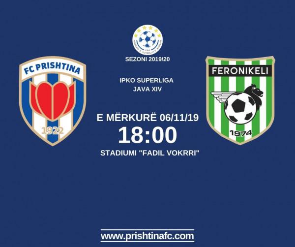 Formacionet zyrtare: Prishtina - Feronikeli