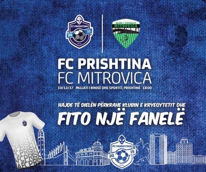 Prishtina futsall dhuron fanella për shikuesit