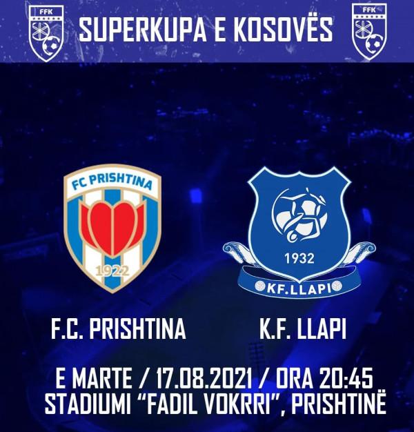 Formacionet zyrtare, Superkupa: Prishtina - Llapi